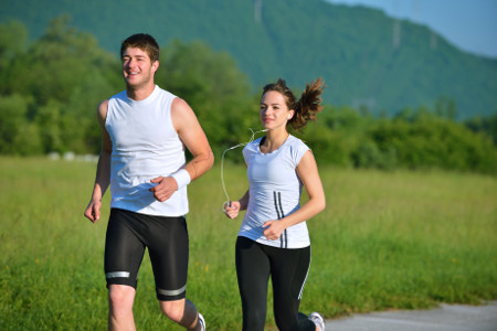 Why a sore right side while running